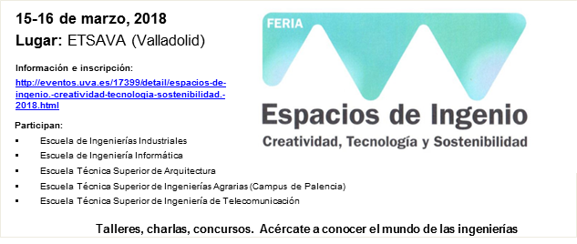 3a Feria Espacios de Ingenio