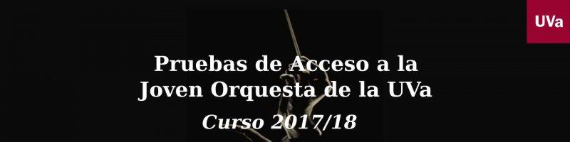 Resultados pruebas de acceso curso 2017/18